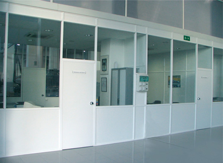 Divisiones de oficina divisiones de aluminio for Divisiones para oficina
