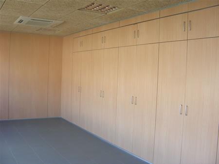 Divisiones de oficina tabique armario divisiones modulares divicat - Armarios de oficina ...